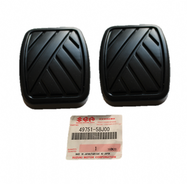 Genuine Suzuki Rubber Brake Clutch Pedal Pad Qty: 2 (Swift, Jimny, SX4) 49751-58J00 4975158J00